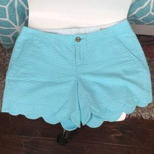 Lily Pulitzer Buttercup shorts size 8